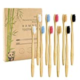 Brosse à Dents de Bambou Paquet de 10 - Brosse à Dents en...