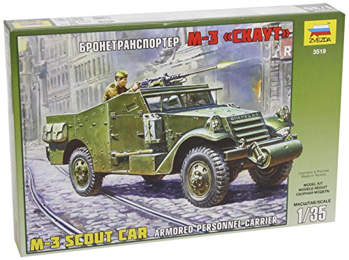 Armoured Personnel Carrier M-3-1:35 Scale - Model Kit - 3519 - Zvezda