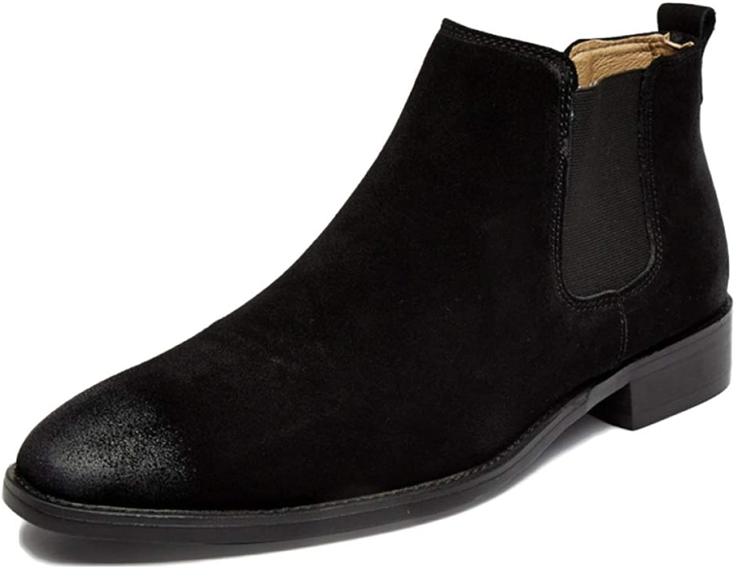 Men's Boots Chelsea Boots Leather Official Security Brock Classic High To Help Boots