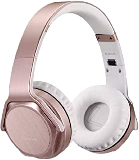 Sodo MH3 2-in-1 Wireless Bluetooth On-Ear Headphones and Twist Out Bluetooth Speaker - Rose Gold
