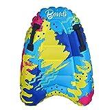 SINGFNH Tabla de surf inflable, tabla de bodyboard portátil con asas, más segura playa piscina flotador tabla para niños adultos playa surf natación verano agua diversión