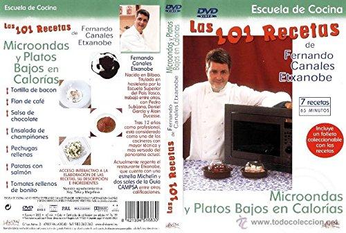 Las 101 Recetas de Fernando Canales Etxanobe: Microondas y Plato [DVD]