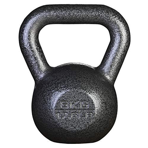 PROIRON ケトルベル 8kg 一体型鋳鉄 ジムや自宅に最適 3年保証