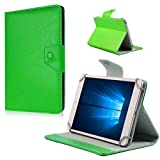Nauci Tablet Tasche Hülle LG G Pad 2 8.3 LTE Case Universal Cover Schutzhülle, Farben:Grün