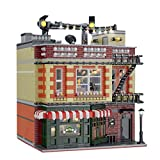 PEXL Juego de construcción de bloques de construcción para casa, arquitectura modular modelo para Friends Central Perk Big Bang Theory modular, 4600 bloques de construcción compatible con Lego