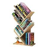 Uyuke Étagère en Bois Simple, Arbre Livre Rack Livre Affichage Table étudiant bibliothèque...