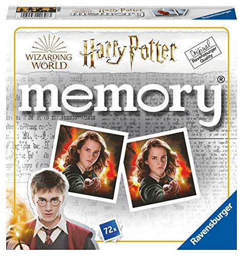 Ravensburger Memory Harry potter - Juego Memory, 72 tarjetas, Edad recomendada 4+...