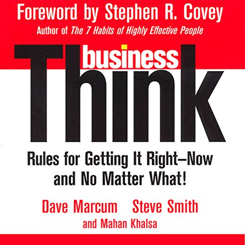 businessThink audiobook cover art