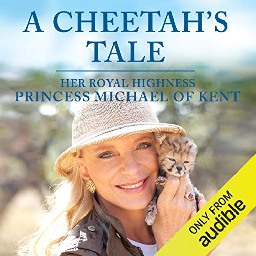 A Cheetah's Tale audiobook cover art