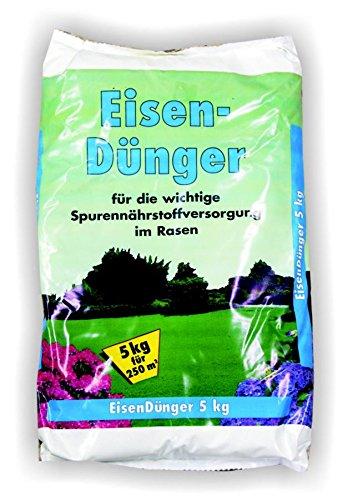 Eisendünger 10kg 2x 5kg Moosentferner Eisen Dünger Sulfatdünger Moos