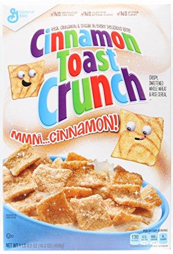 Cinnamon Toast Crunch - Cereales de desayuno, estilo americano, 460g