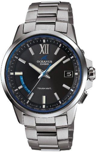 [カシオ] 腕時計 オシアナス 電波ソーラー OCW-T150-1AJF シルバー