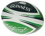 Ballon de Rugby Guinness souple - couleurs vert, noir et blanc