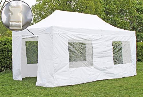 51dWbm7+x4L - Stabilezelte Faltpavillon 2x2 Meter Professional ohne Fensterseiten Bordeaux
