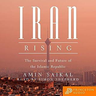 Iran Rising audiobook cover art