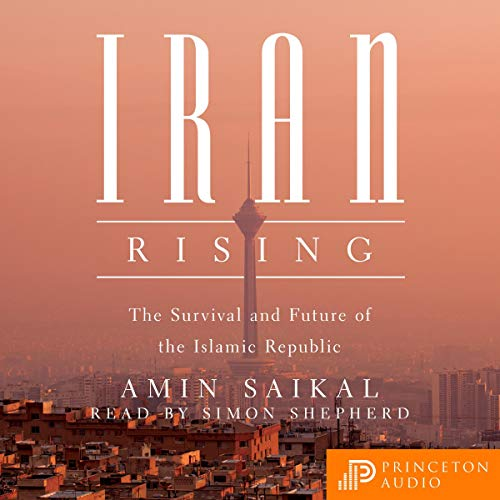 Iran Rising audiobook cover art