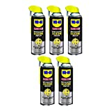 WD-40 Specialist Water Resistant Silicone Lubricant Spray, 11 Ounces (5 Pack)