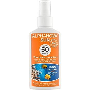 Alphanova - Crema de protección solar (factor de protección 50 ...
