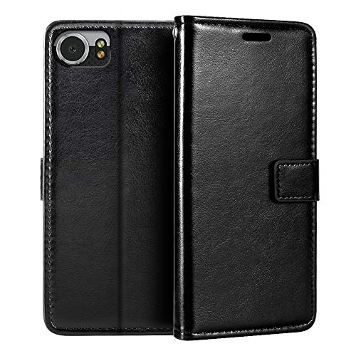 BlackBerry Keyone DTEK 70 Wallet Case, Premium PU Leather Magnetic Flip Case Cover with Card Holder and Kickstand for BlackBerry Mercury