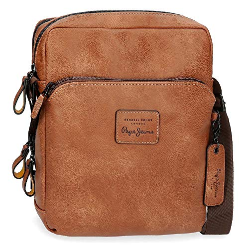Schoudertas Pepe Jeans Vegan Brown