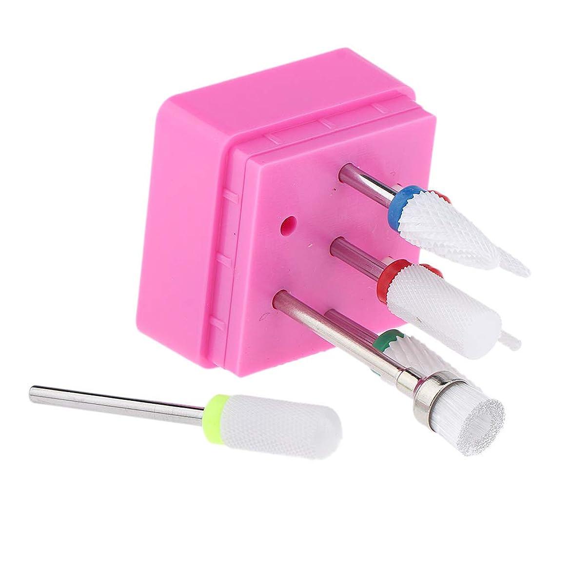 回復エキサイティング火曜日B Baosity 7本 ネイルアート ネイルファイル 研磨ヘッド 電気ドリルビット マニキュア