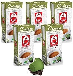 Caffe Bonini Nespresso Compatible Gourmet Espresso Capsules, for Original Line Nespresso Machine,50 Count (Carioca - Intensity 5)