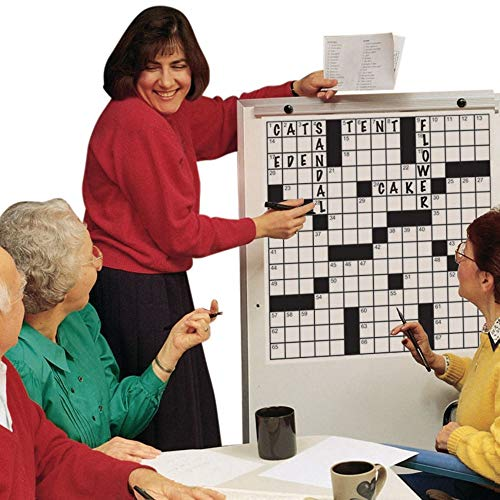 S&S Worldwide Giant Crossword Puzzles Set 2