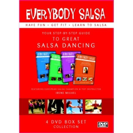 Everybody Salsa! Vol. 1-4 Dvd Boxset - Your Step-By-Step Guide [DVD]