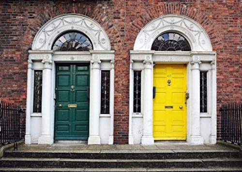 Papermoon Dublin Doors Vlies Fotobehang 350x260cm 7-Banen