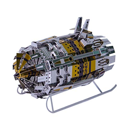 sharprepublic 3D Metal Puzzle Powered Engine Model Building Kit Kid Gifts Collectibles