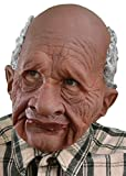 Zagone Grandpappy Mask, Wrinkled Old Brown Man
