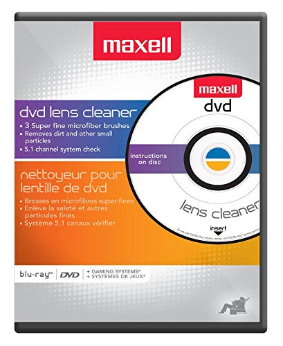 Maxell DVD-LC DVD Lens Cleaner, One Size