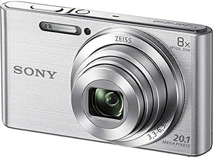 Câmera Sony Cyber-Shot DSC-W830 - Prata