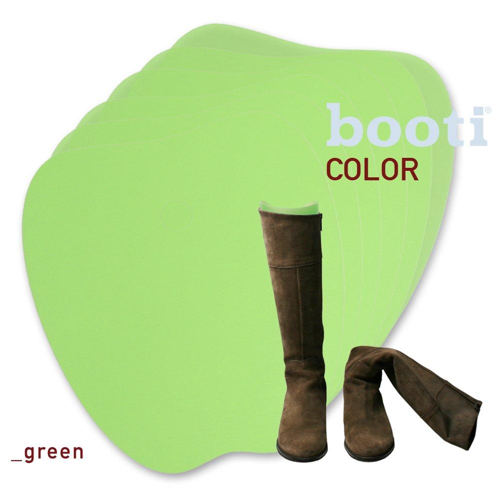Bootiブーツボディシェイプ - グリーン、4ペアのブーツ