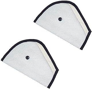 Doyeemei シートベルトカバー こども (2つ )車用 シートベルトアジャスター チャイルド シートベルトパッド 枕 子供 旅行 安全 車用 ストッパー