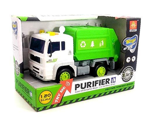 Dimasa Miniture City Sanitation Series, camión volquete con purificador de fricción, Escala 1:20.