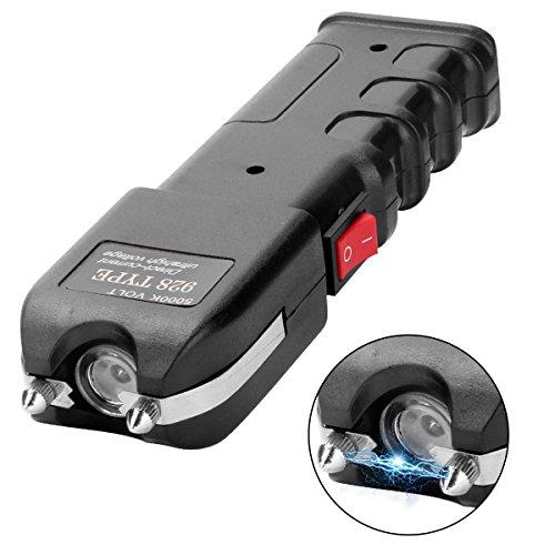 Dominik Kedzior Stun Gun Taser Flashlight Stun Gun for Women,Taser Stun Gun with Lights Rechargeable - Used in Self Defense