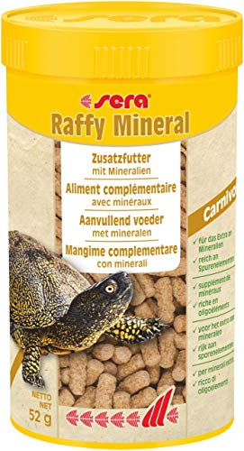 Sera Mangime per Tartarughe raffy Mineral 250 ml con sali minerali e vitamine