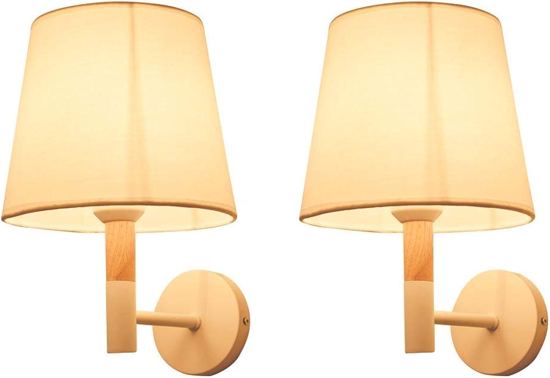 Raelf Moderne Einfachheit Einfachheit Einfachheit Massivholz Schlafzimmer Nachttischlampen Korridor Gang LED Wandleuchte an der Wand Anti-Korrosion Rostschutz Halterung Licht Mode Schmiedeeisen Saug Wandlampe B07NMK42V2   Große Klassifizierung  df1964