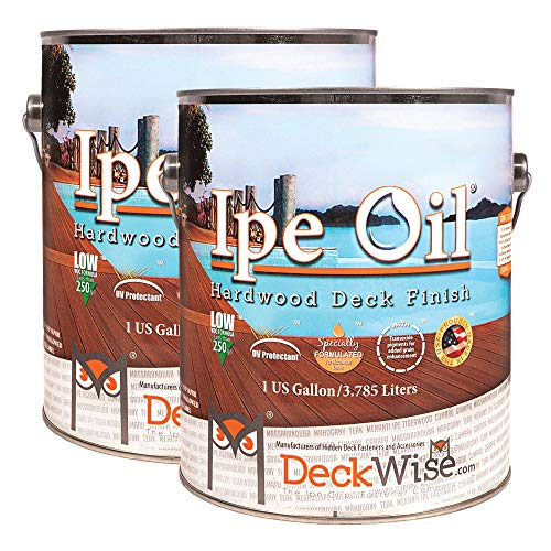 DeckWise Ipe Oil Hardwood