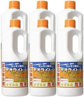 【セット】 尿石除去剤 業務用 デオライト-L 1kg 6本セット
