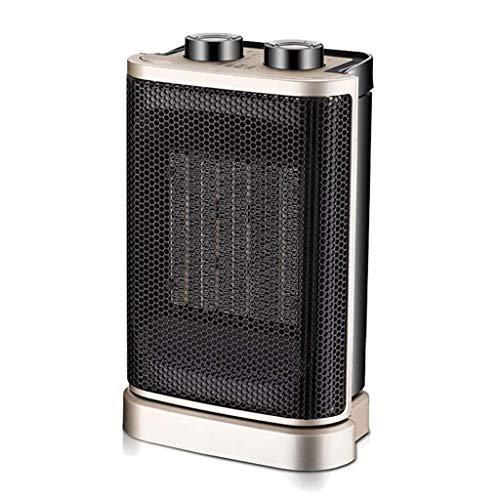 Ventilatorkachel intelligente temperatuurregeling chip automatisch systeem hittebestendig metalen mesh ontwerp resthousehold desktop QIQIDEDIAN