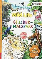 SCHLEICH® Wild Life - Sticker-Malspass