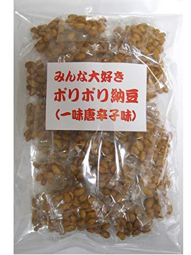 ポリポリ納豆 5.5g×50包入り (一味唐辛子味)