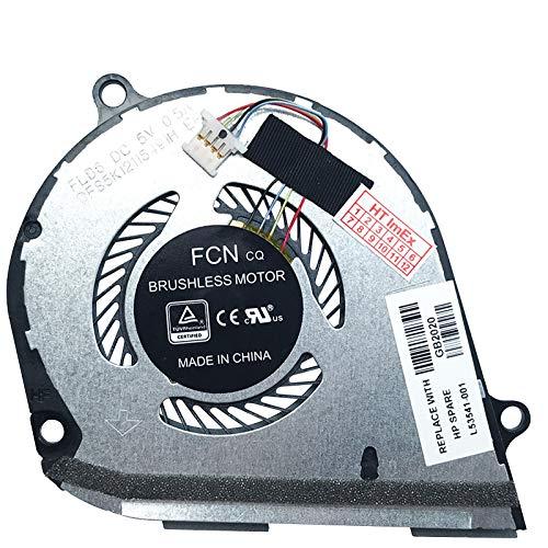 (GPU Version) Fan Cooler Compatible with HP Envy x360 15-dr, 15-dr0200, 15-dr1000, 15-ds, 15-ds0100, 15-ds0200