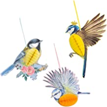 Generic 3 Peças Bonitos Pássaros Animais Pendurados No Balanço Decoração Casa Divertida Quarto Infantil