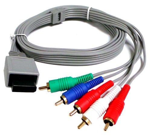 Importer520 Nintendo Wii   Nintendo Wii U Component HDTV AV High Definition AV Cable (Bulk Packaging)