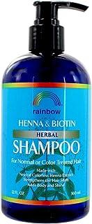 Rainbow Research Organic Herbal Henna Boitin Shampoo, 12 Fluid Ounce