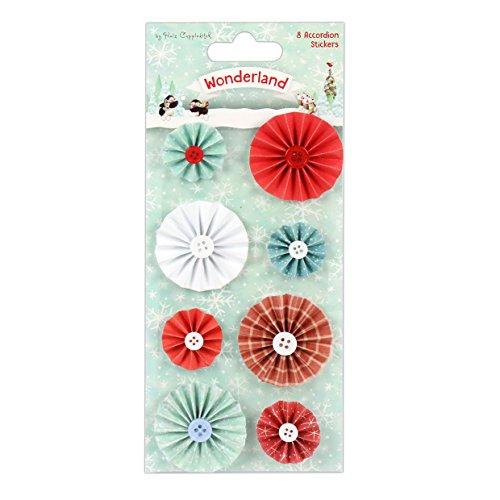 País De Las Maravillas Toppers Helz Cuppleditch sentimiento de Navidad 7 Pack Tarjeta Artesanía