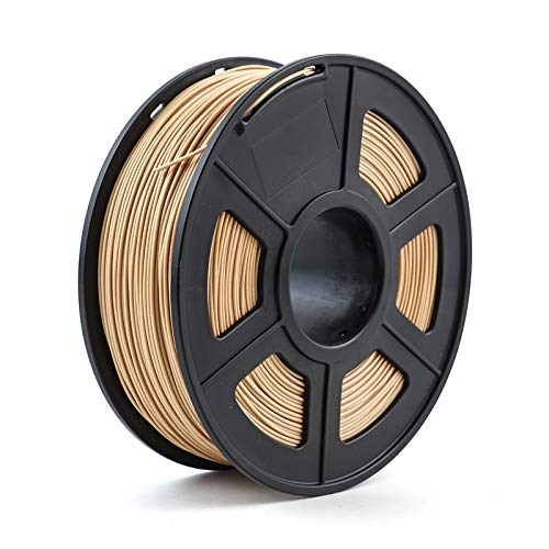 TongGuo 3D Printer Filament PLA ,High strength, good toughness.No Bubble.,1.75mm 1kg/2.2lbs 3d plastic consumables material 3d filament PLA (Color : PLA Wood)